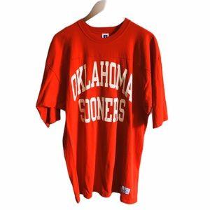 VTG Vintage Russell Athletic Oklahoma Sooners Tee